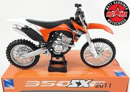 cast of motocrossed ktm sxf 350 1 12 die cast motocross mx motorbike toy model bike