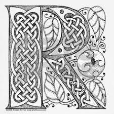 celtic calligraphy r u0027illuminated letter u0027 fonts illuminated letter
