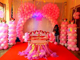 birthday decorations beautiful minnie theme naming ceremony decor birthday custom