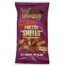 unique pretzel shells where to buy unique flavor shocked pretzel shells bacon cheddar 9 oz