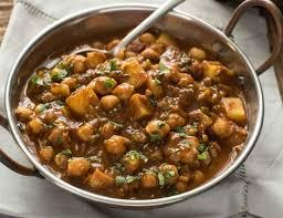 cuisiner des pois chiches une recette facile de curry de pois chiches et de patates
