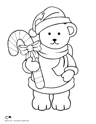 teddy coloring page 1 clipart fort