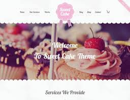Just Like Home Design Your Own Cake by 14 Best Wordpress Themes For Bakeries U0026 Coffee Shops 2017 Athemes