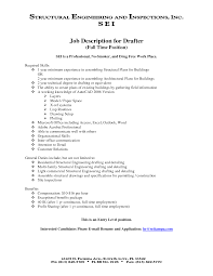 Sample Resume Objectives For Production Operator by Mechanical Engineer Resume Example Resume Civil Drafter Senior