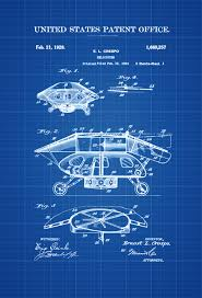 100 aviation decor home 1928 helicopter patent vintage