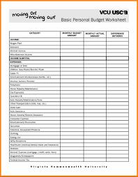 Auto Loan Spreadsheet Free Budget Spreadsheet Templatez234