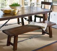Kitchen Bench Table Graceful Rustic Kitchen Table With Bench - Bench tables for kitchen