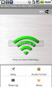 wifi tether for root users apk wifi tether apk for android