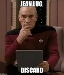 Jean Luc Picard Meme - picard thinking imgflip
