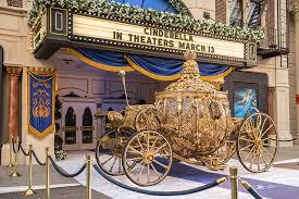 cinderella coach golden carriage from cinderella arrives at disney s