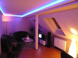 led wohnzimmer zauberhafte led lichteffekte in einer modernen wohnung in polen