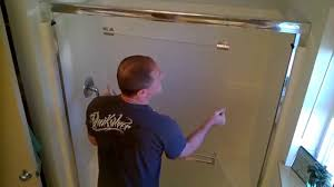 how to clean bathroom glass shower doors how to remove u0026 clean glass shower doors youtube