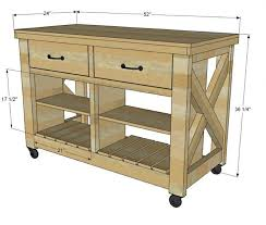 how to build a portable kitchen island kitchen magnificent rustic portable kitchen island butcher block