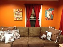 Burnt Orange Sheer Curtains Curtains With Orange Walls U2013 Rabbitgirl Me