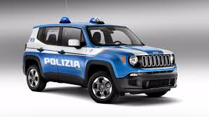 Alfa Romeo And Jeep Reporting For Duty With The Italian Police