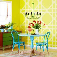 wall painting ideas and patterns shapes and color combinations