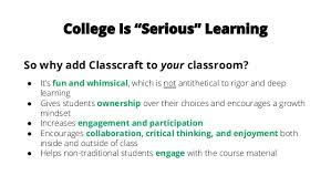 best online class best practices for using gamification in college online classes