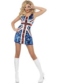 rule britannia glitter costume music legends costumes at