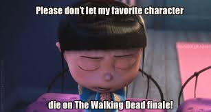 Funny Good Luck Memes - good luck everyone the walking dead the walking dead meme twd