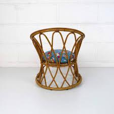 siege en rotin fauteuil enfant rotin vintage la marelle mobilier et déco
