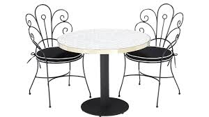 Marble Bistro Table And Chairs Bistro Marble Outdoor Table Cb2