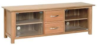 Oak Tv Cabinets With Glass Doors Oak Tv Cabinet Glass Doors Pnashty For Cabinets With Designs 1