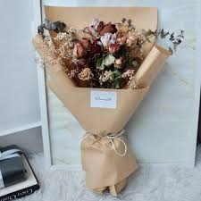 Dried Flower Arrangements Artisan Flower Bouquet Dried Flowers Giftr Malaysia U0027s