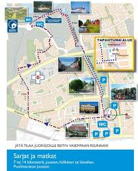 Map Run Route by Kokkola City Run World U0027s Marathons
