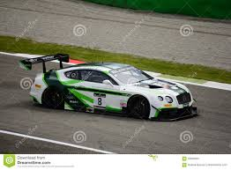 bentley racing green blancpain gt series bentley continental racing at monza editorial
