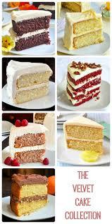 the velvet cake collection white velvet red velvet and raspberry