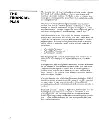 Spreadsheet For Business Plan Financial Business Plan Sample Pdf Financial Template For Business