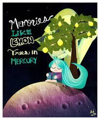 memories like lemon trees in mercury by anif sama on deviantart