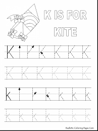 surprising letter coloring pages with letter k coloring page
