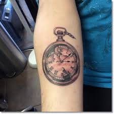 pocket watch tattoos u2013 how timepieces can be turned into body art
