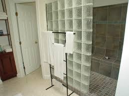 glass block shower ideas home design ideas
