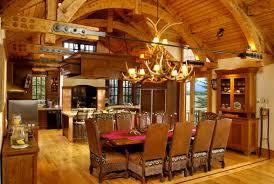 log home interior designs