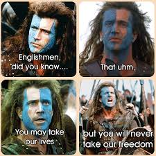 Braveheart Freedom Meme - image 344800 hey girls did you know know your meme