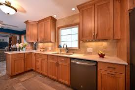 natural finish cherry kitchen cabinets kitchen paint colors with