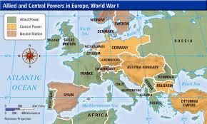 post ww1 map mr barnhill s history class wwi map