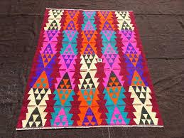 Colorful Kilim Rug Woven Kilim Kilim Rug