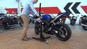 honda cbr motorbike honda cbr 600 motorbike central paddock stand constands power