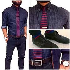 men s j fig knit tie navy chinos and business casual