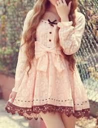 dress bow lace cute dress cute dress asian fashion asian