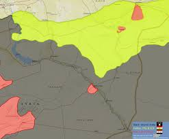 Syria World Map by Huge Battle Underway For Isis Turf In Eastern Syria Map Update