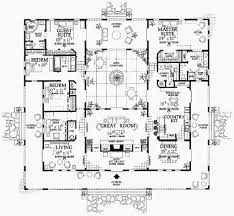 spanish style house plans with courtyard center central soiaya