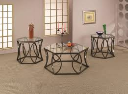 coffee table stunning metal glass coffee table round metal frame