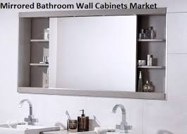Mirrored Bathrooms Mirrored Bathroom Wall Cabinets Market Outlook Trend And