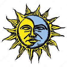 sun and moon vector sketch stock vector pizla09 51113855