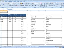 Landlord Spreadsheet Rental Property Expense Spreadsheet Template