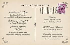 postcard wedding invitations wedding rsvp postcard europe tripsleep co